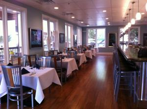 Have a drink at the bar or enjoy a meal in the casual atmosphere of our downstairs dining room.